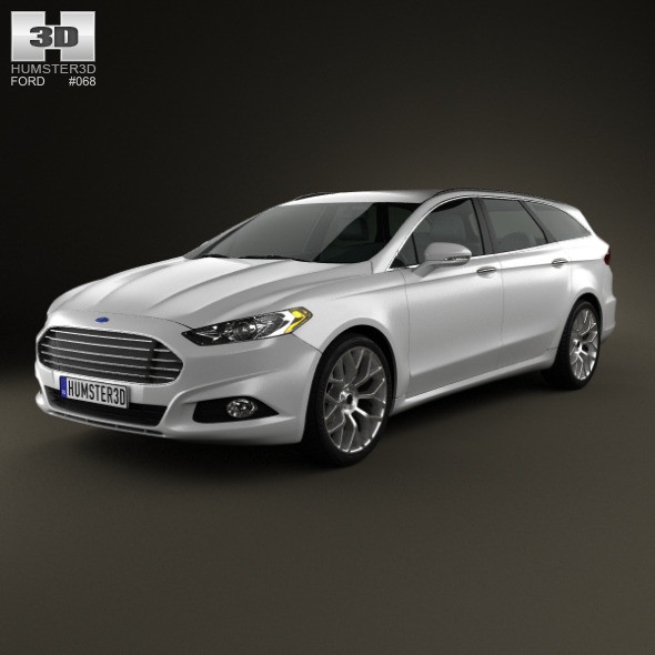 Ford Fusion (Mondeo) wagon 2013 - 3DOcean Item for Sale