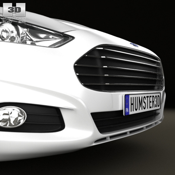 ford fusion mondeo wagon 2013 by humster3d 3docean. Black Bedroom Furniture Sets. Home Design Ideas