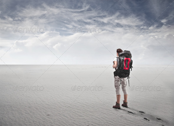 Young Traveler - Stock Photo - Images