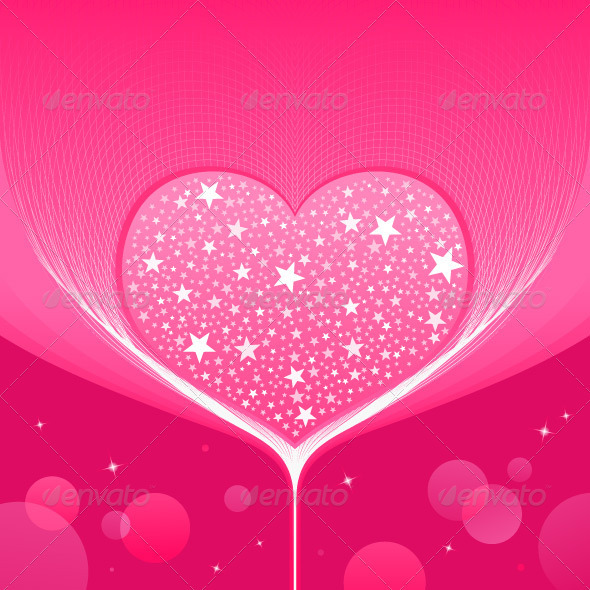 Love Heart Background - Valentines Seasons/Holidays