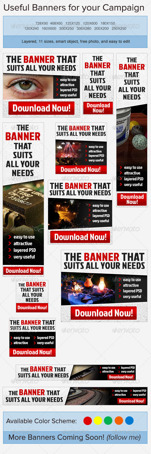 Standard Banner Ad - Banners & Ads Web Elements