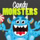 Candy Monsters - GraphicRiver Item for Sale