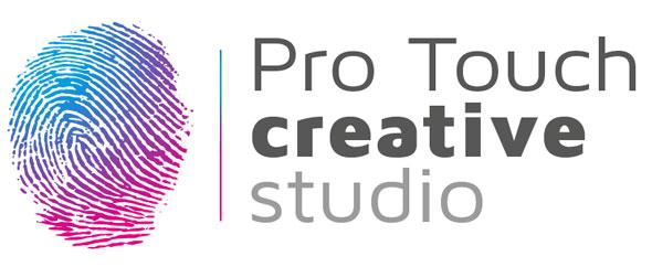 Pro touch creative logo