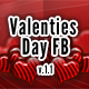 Valentines Day FB V.1.1 - GraphicRiver Item for Sale