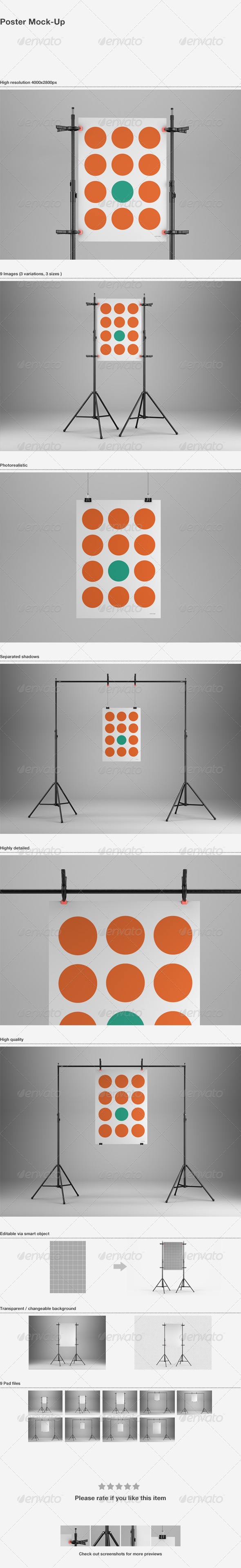 Poster Mock-Up - Posters Print