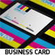 Creative CMYK Business Card - GraphicRiver Item for Sale