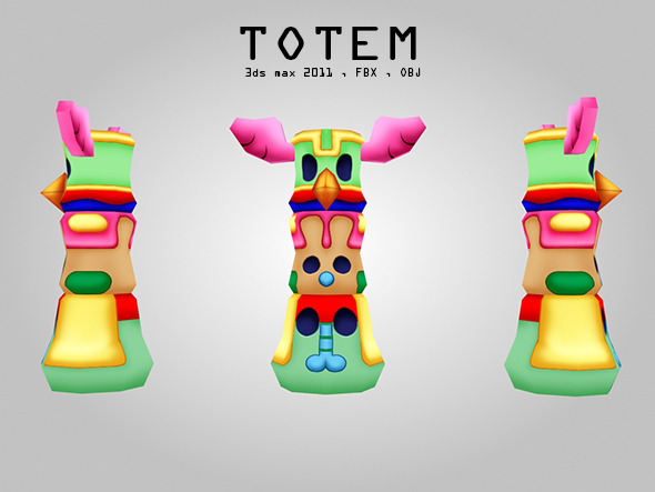 Totem - 3DOcean Item for Sale