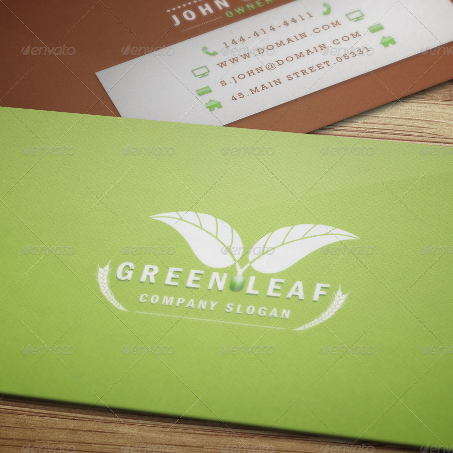 Eco Nature - Business Card by VectorMedia   GraphicRiver