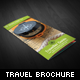 Traveler Guide Trifold Brochure - GraphicRiver Item for Sale
