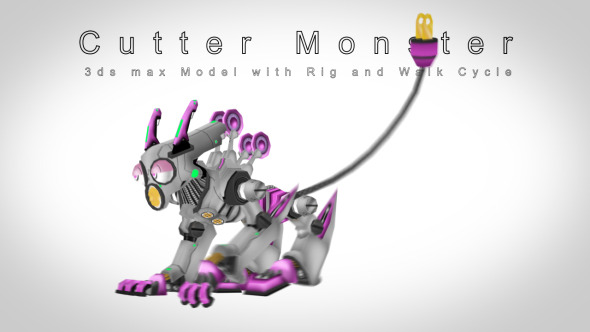 Cutter monster - 3DOcean Item for Sale