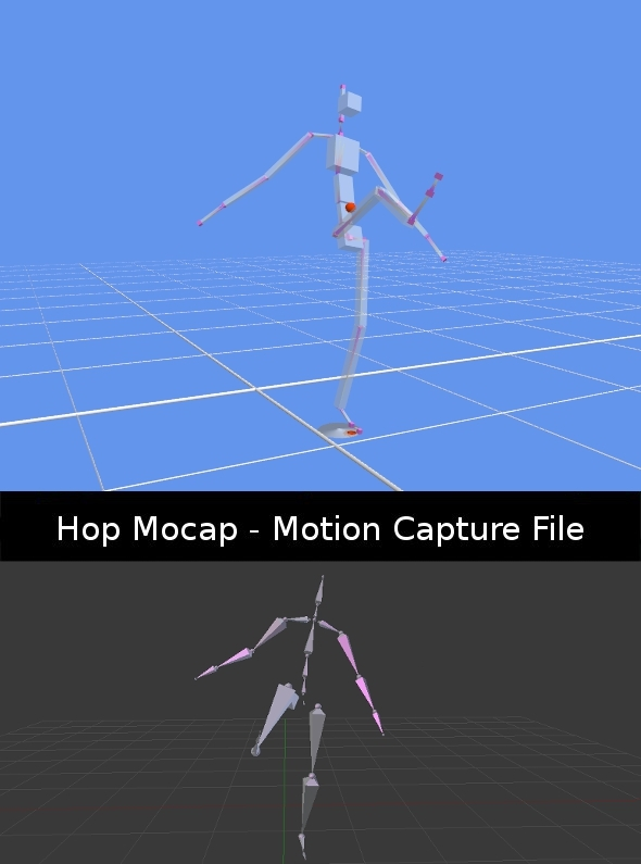 Kick Mocap - 3DOcean Item for Sale
