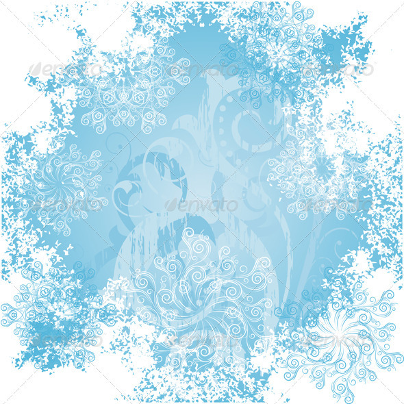 Frosty patterns - Christmas Seasons/Holidays