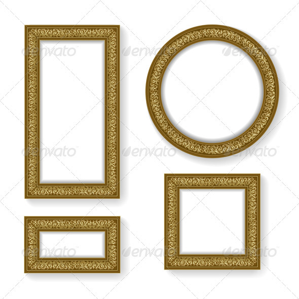 Set of frame - Borders Decorative