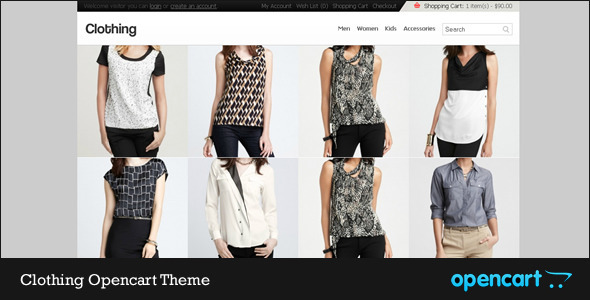 Clothing Opencart Theme - Fashion OpenCart