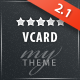 vCard Advanced - Modern vCard Theme - ThemeForest Item for Sale