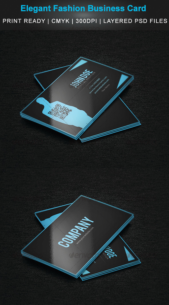 Elegant Fashion Business Card  - Creative Business Cards