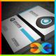 Blue Corporation Business Card