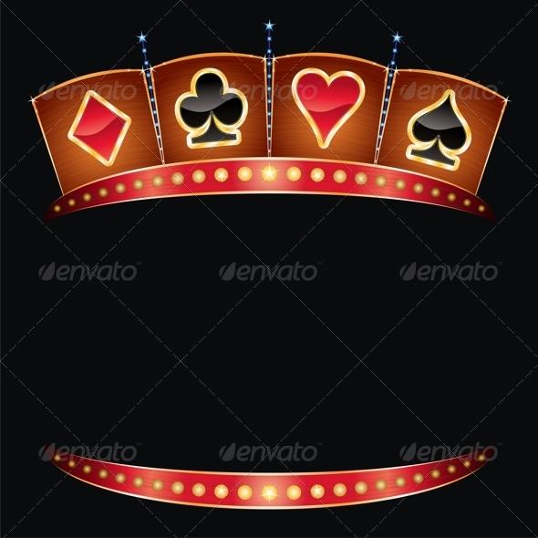 Casino Neon - Decorative Symbols Decorative