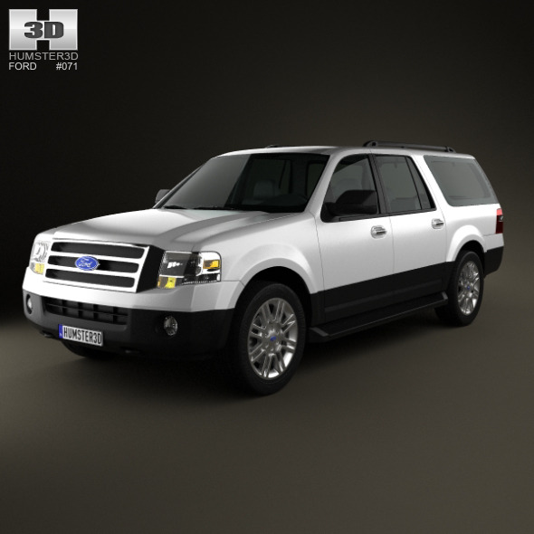 Ford Expedition 2012 - 3DOcean Item for Sale