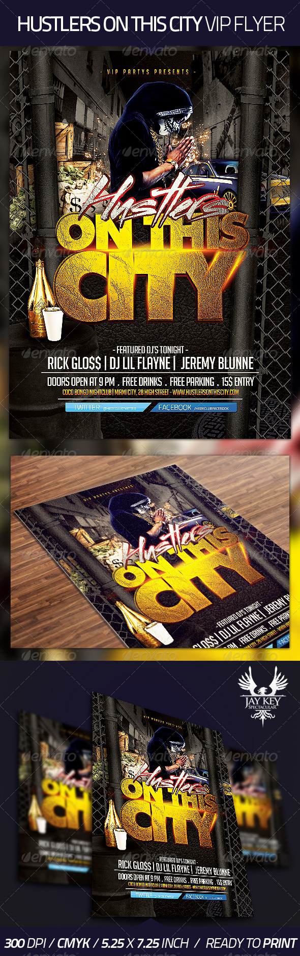 Hustlers on This City Flyer - Clubs & Parties Events