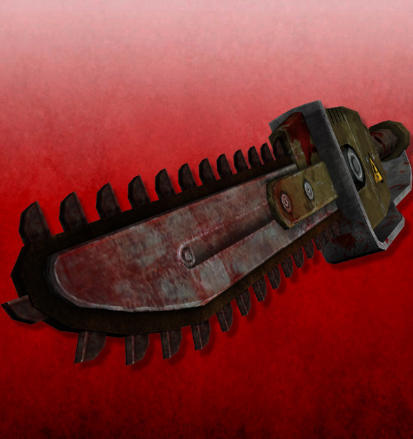 Chainsaw - 3DOcean Item for Sale