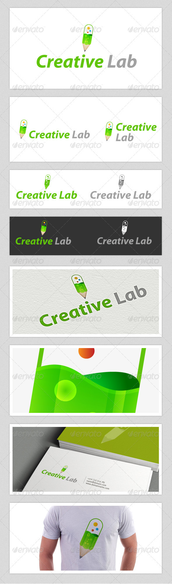 Creative Lab Logo - Objects Logo Templates