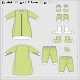 Baby Wear Flats Set 2 - GraphicRiver Item for Sale