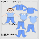 Baby Wear Flats Set 3 - GraphicRiver Item for Sale