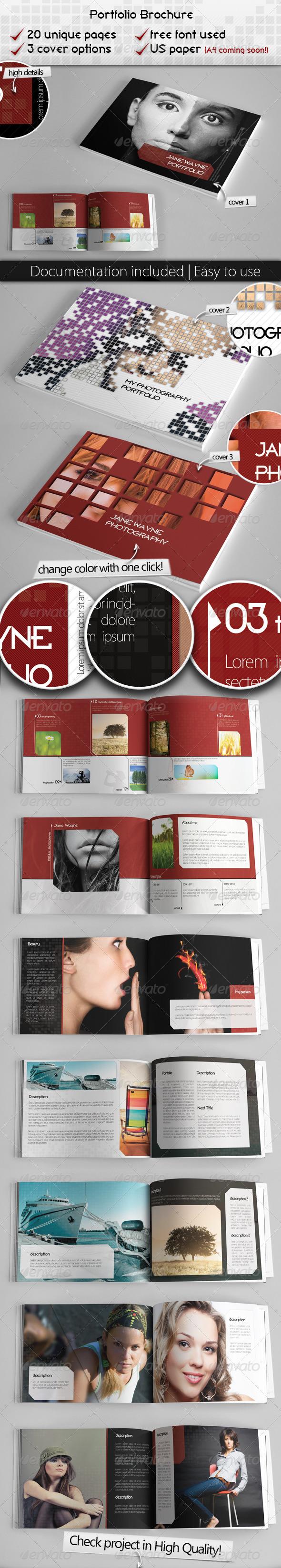 Portfolio Brochure Project - Portfolio Brochures