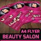 Beauty Salon - A4 Flyer - GraphicRiver Item for Sale