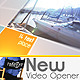 Download New Video Opener from VideHive