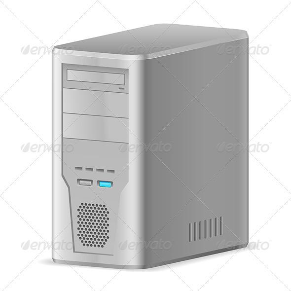 Case of Computer - Miscellaneous Vectors