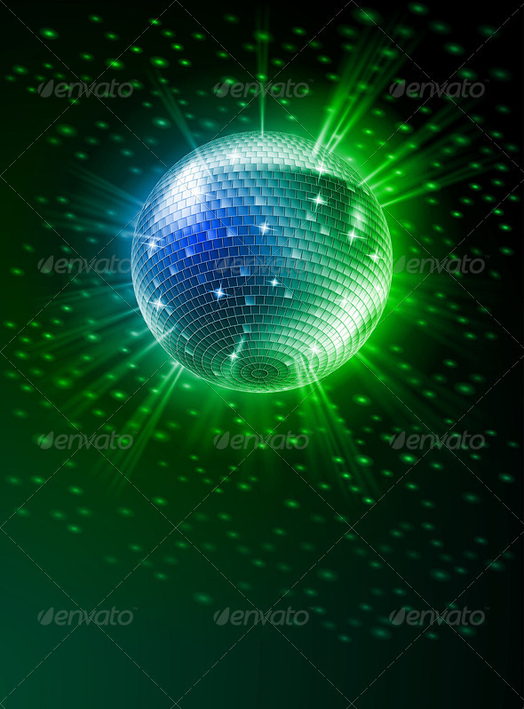 Mirror Disco Ball - Miscellaneous Vectors