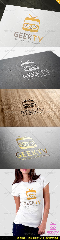 Geek TV Logo - Humans Logo Templates