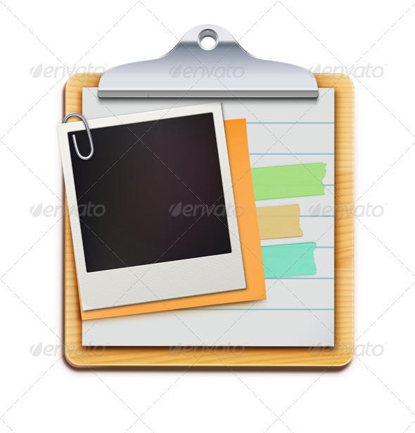 Clipboard - Objects Vectors