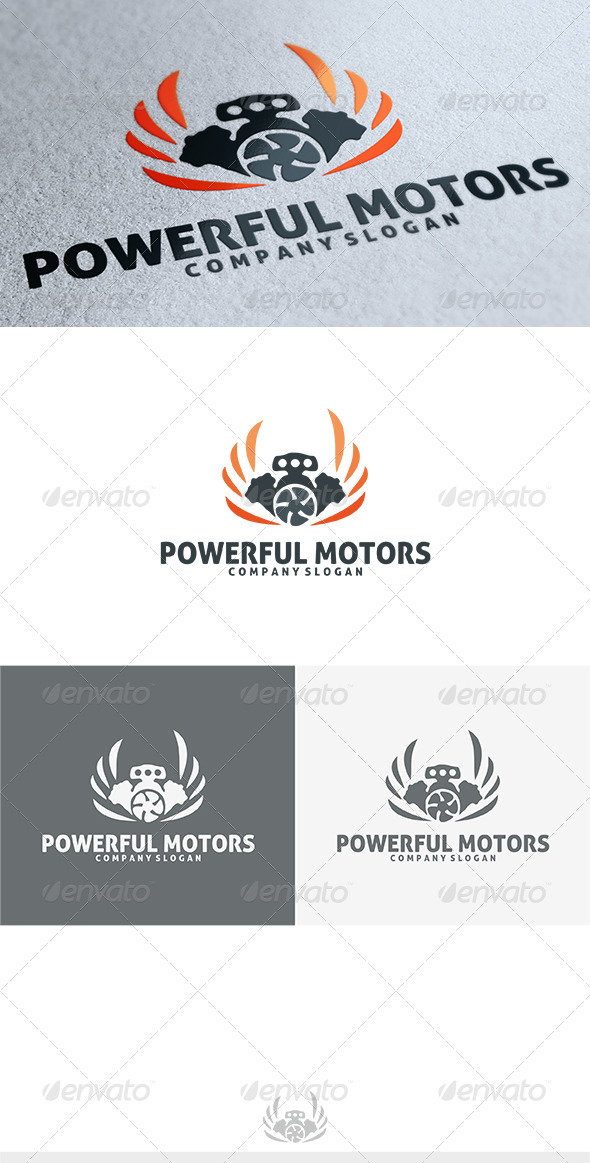Powerful Logo - Objects Logo Templates