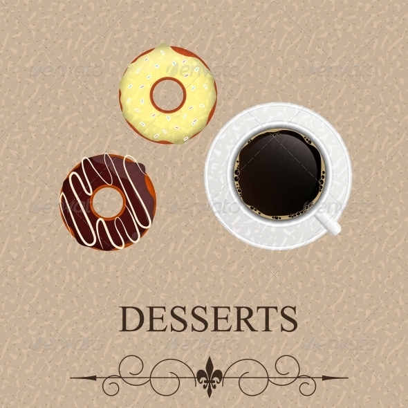 Vector Dessert Menu - Birthdays Seasons/Holidays
