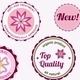 Set of Cosmetic Badges, Labels and Stickers - GraphicRiver Item for Sale