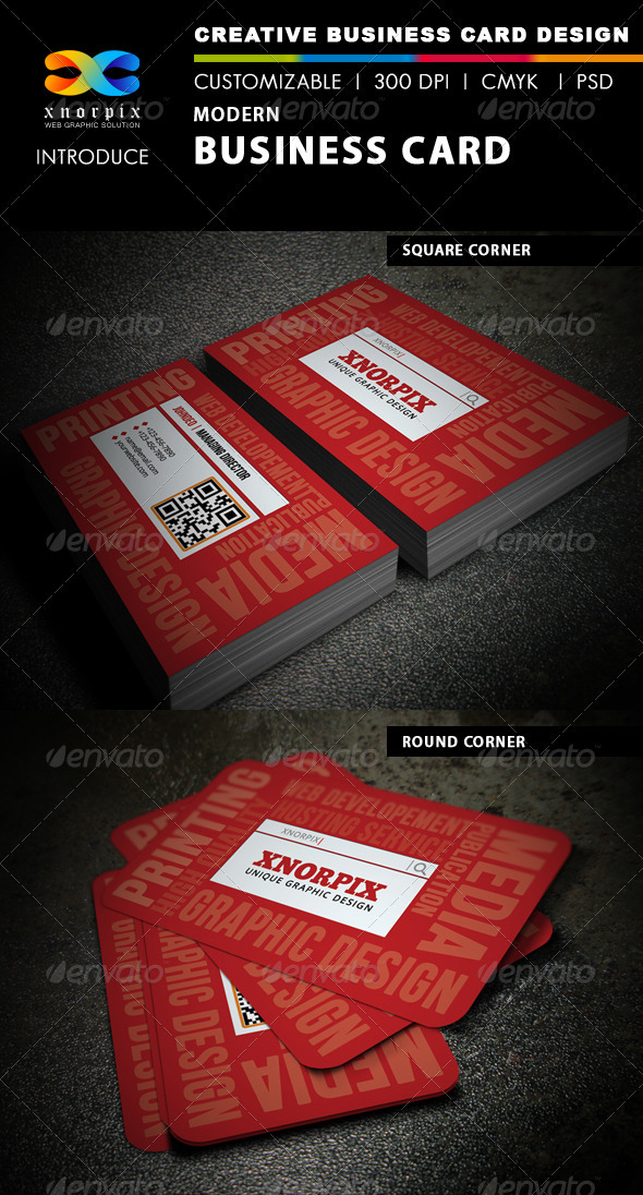 Modern Business Card - Creative Business Cards