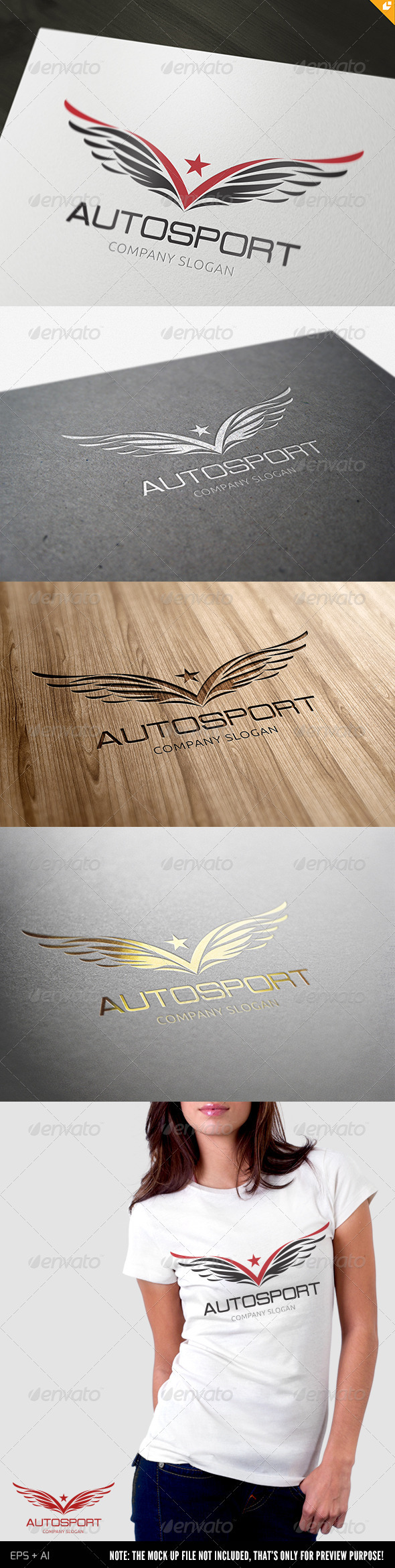 Autosport Logo - Vector Abstract