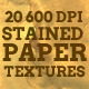 20 Stained Paper Textures - GraphicRiver Item for Sale