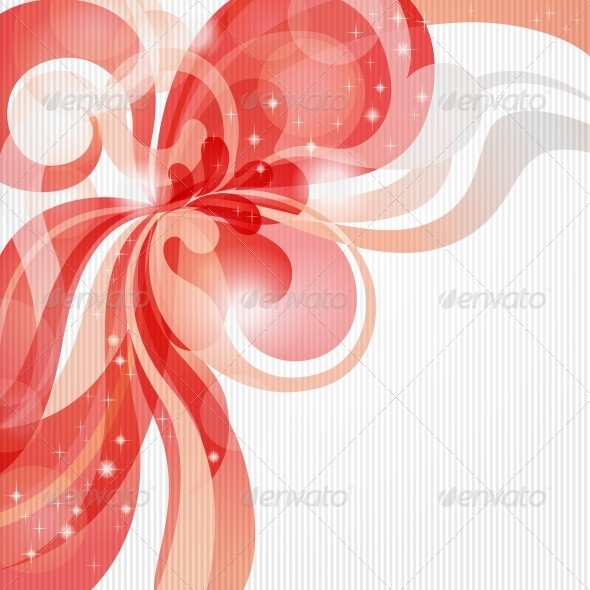 Abstract love theme background in red tones - Valentines Seasons/Holidays