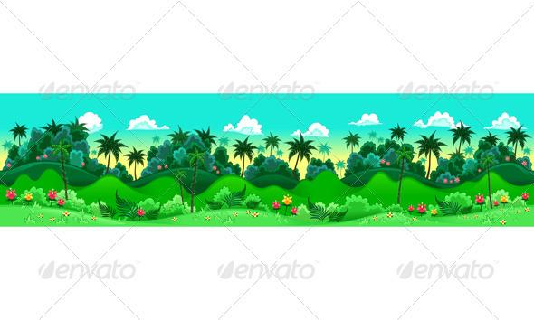 Green Forest.  - Landscapes Nature