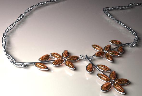 Necklace - 3DOcean Item for Sale