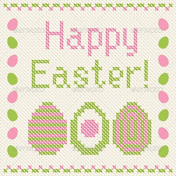 Happy Easter Greeting Card. - Seasons/Holidays Conceptual