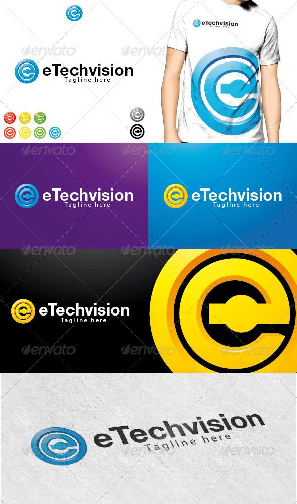 eTechvision Logo - Letters Logo Templates