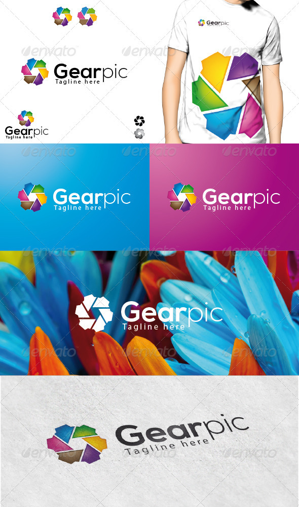 Gearpic Logo - Vector Abstract