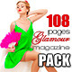 108 Pages Glamour Magazine Bundle - GraphicRiver Item for Sale