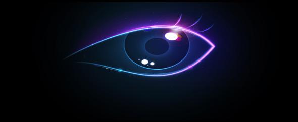 Creative colorful eye hd hd