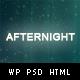 Afternight - A Stylish Minimalist Responsive Theme - ThemeForest Item for Sale